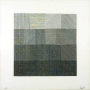 [no title] 1971 by Sol LeWitt 1928-2007