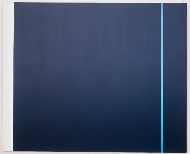 Newman, Barnett: Midnight Blue, Museum Ludwig, ML Dep. 7356