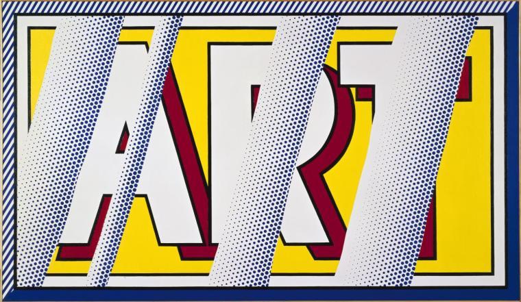 Reflections: Art 1988 by Roy Lichtenstein 1923-1997