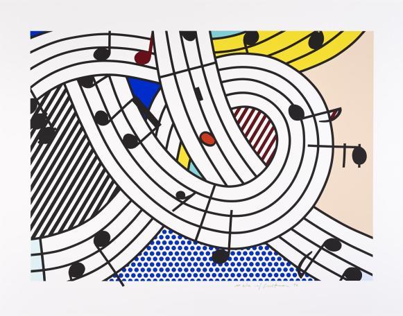 Composition II 1996 by Roy Lichtenstein 1923-1997