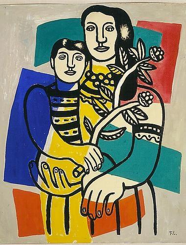 fernand-leger-c-1949-mere-et-enfant