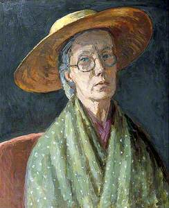 Bell, Vanessa, 1879-1961; Self Portrait
