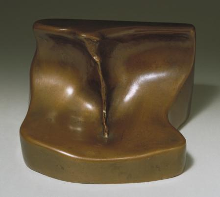 Female Fig Leaf 1950, cast 1961 by Marcel Duchamp 1887-1968