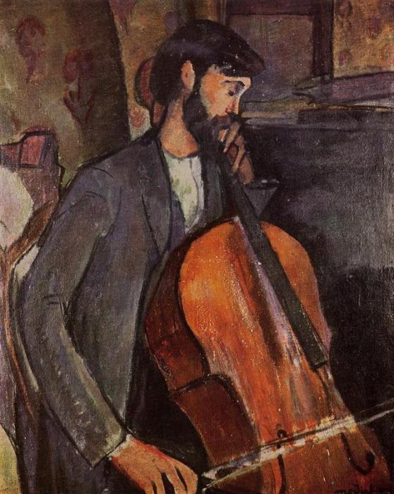 ModiglianiCellist1909