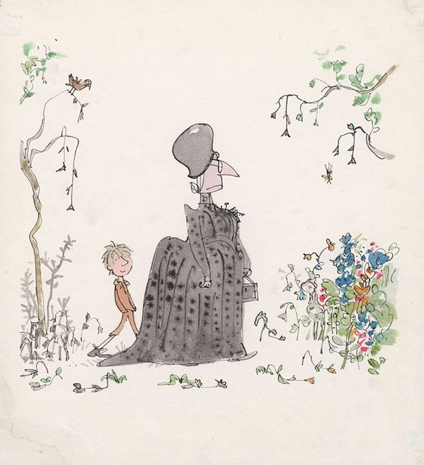 Quentin-Blake-at-the-Laing