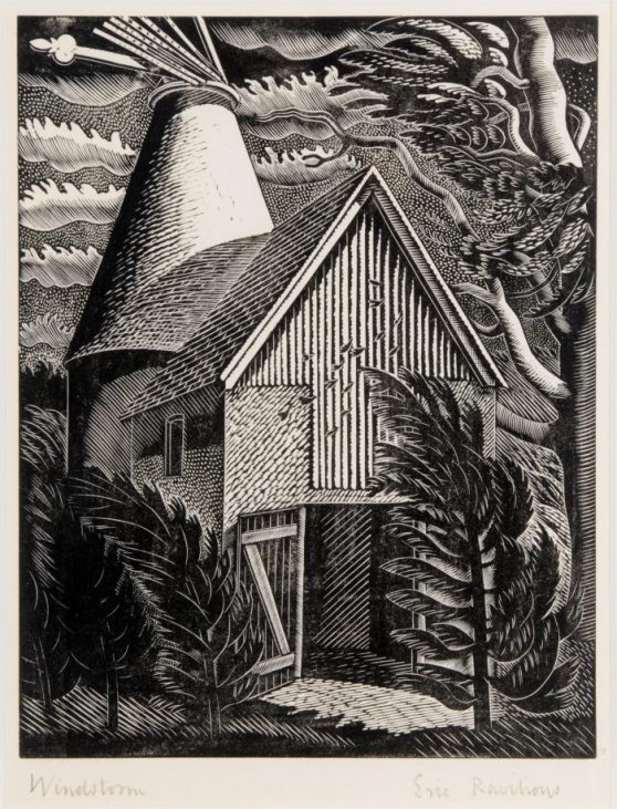 11.-Eric-Ravilious-The-Windstorm-1931-Museums-Sheffield-700x918