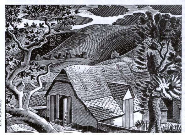 eric-ravilious-sussex-landscape-1931