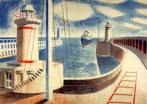 N-Eric-Ravilious-Newhaven-Harbour